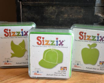 Sizzix Set of Three Cartridges