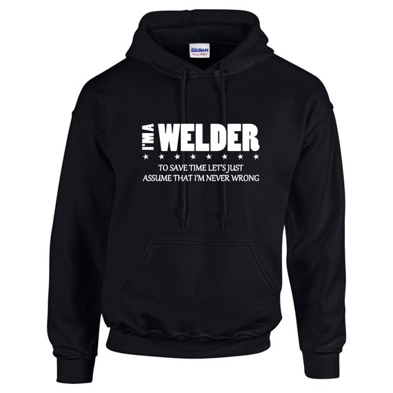 I'm A Truck Driver I'm Never Wrong Funny Occupation Mens Hoodie M63DdsO