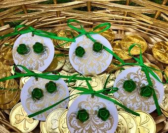 St. Patricks Day Earrings