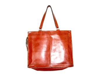 cartable en cuir Vintage / sac de messager en cuir vintage pour ordinateur portable en cuir vintage sac à main / bandoulière en cuir / sac à main en cuir