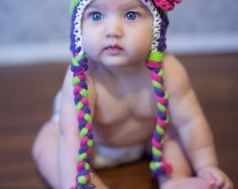 baby hat, girls hat, newborn girl hat, Crochet , hat for girls, , baby girl hat, crochet kids hat,  crochet hat for girls,, girls winter hat