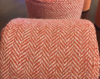 Winingas - Viking - Norse - Anglo-Saxon Leg Wraps paprika brick red