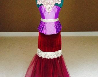 Crystal Embellished Corset Dress