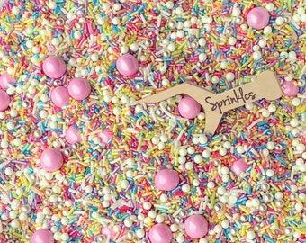 Edible Sprinkles, Sprinkle Mix, Sprinkles, Unicorn Sprinkles, Rainbow Sprinkles, Unicorn Party, Shimmery Sprinkles, Sparkly Sprinkles, 2.5oz