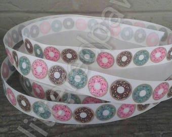"""7/8"""" Donut Grosgrain Ribbon"""