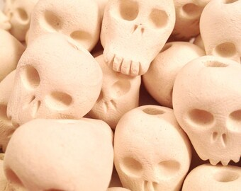Skullies - Clay Skull Beads