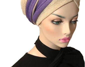 Coverlee wrap scarf /tichel / headcovering/sinar