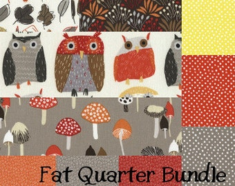 Woodwinked Fat Quarter Bundle - 10 fabrics by DearStella Fabrics