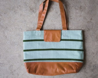 Aqua & Emerald Day Bag
