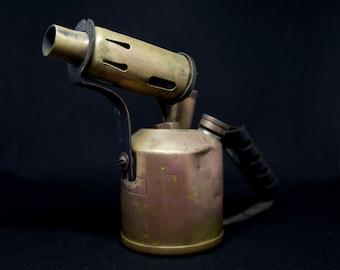 Vintage Paraffin Blow Lamp / Torch   Monitor 132A