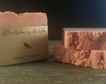 Sugar Cookies Soap-All Natural, vegan soap, rustic soap, handmade soap, holiday soap