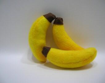 Hand-made Banana Catnip Filled Cat Toy