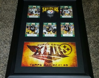 Pittsburgh Steelers Super Bowl XLIII Champions 11x17