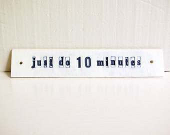 Just Do 10 Minutes.  Antidote For An Overwhelming Kitchen.  Or Anywhere.  On Sale.