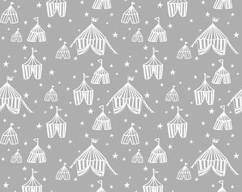 Calliope - Big Top in Grey by Maude Asbury for Blend Fabrics