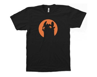 Toothless from How to Train Your Dragon t-shirt
