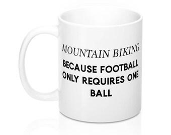 Mountain Biking Mug, Mountain Bike Mugs, Coffee Cup, Bike Mug, Bicycle Mugs, Biking, Dad, Mom, Father's Day Gifts For Him, Gifts For Her