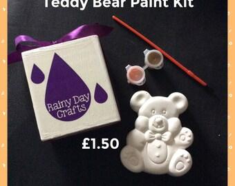 Teddy Bear Painting Kit