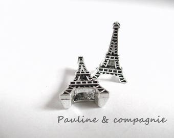 2 busy beads spacer shape Eiffel Tower Paris