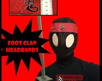 Teenage Mutant Ninja Turtles (1990) Foot Clan Headband