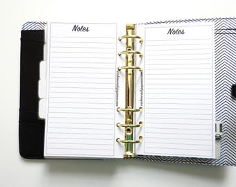 Personal Planner Inserts - Notes Inserts - Writing Paper Inserts - Note Paper Inserts - Planner Inserts - Personal Planners