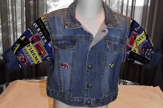 Refurbished Boys Denim Jacket, Size