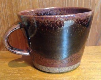 stoneware coffee mug handmade