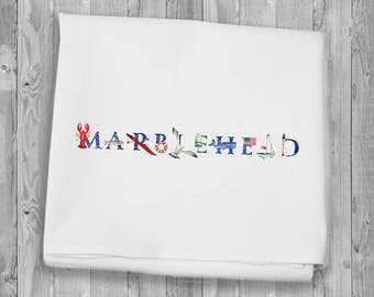 Marblehead Flour Sack Towels for kitchen and bar