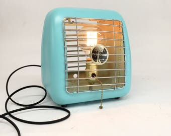 Tropic-Aire Space Heater, Antique Lamp, Vintage Heater Lamp, Vintage Heater, Reclaimed Lamp, Art Deco Lamp, Steam Punk Lamp, Art Deco Lamp