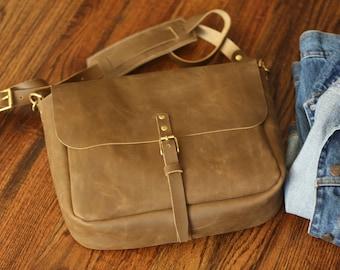 Leather Satchel Bag, 100% Handmade Leather Shoulder Bag, Leather travel Bag, Men's Leather Bag