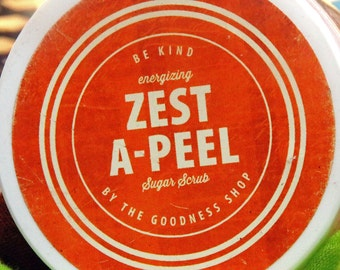 Zest A-Peel All Natural Sugar Scrub (various sizes)