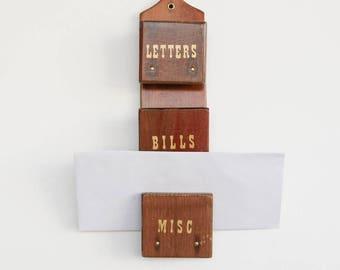 Vintage Letter Organizer