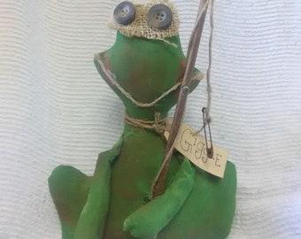 Fishing frogger