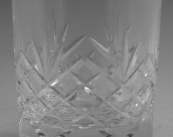 "EDINBURGH Crystal - MRUK11 Cut - Tumbler Glass / Glasses - 3 1/4"" Cut Foot"