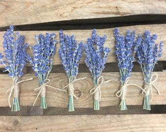 Lavender Buttonholes Buttonaire corsage