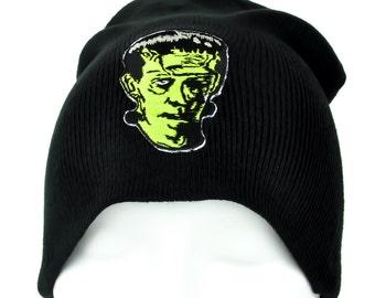 Frankenstein Classic Movie Monster Beanie Hat - YDS-PA-228-BEANIE