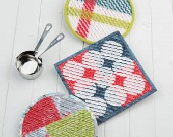 Quilt Pattern - Krista's Kitchen Hot Pads by Atkinson Designs