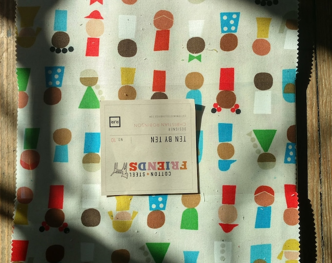 10x10 Pre-Cut Pack: Spectacle by Christian Robinson for Cotton + Steel