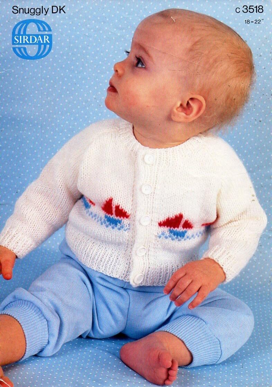 baby cardigan knitting pattern pdf baby cardigan baby jacket ship ...