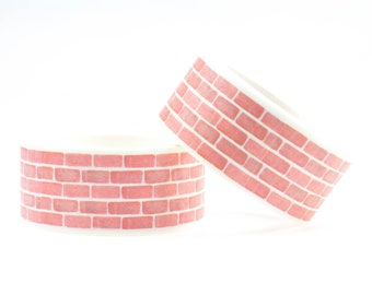 Brick wall washi tape 20mm