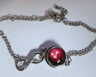 Mini Mended Heart Infinity Bracelet