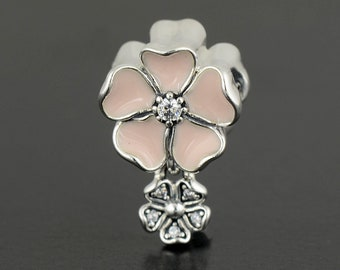 Authentic Pandora Spring Poetic Blooms Pink Flower 791827EN40