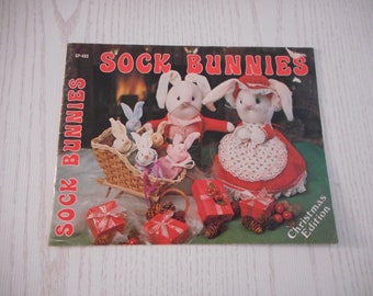 Sock Bunnies Booklet - Instructions to make a variety of Bunnies from Socks