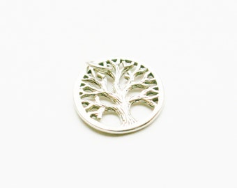 Sterling Silver Tree Charm, Silver Tree Charm, Sterling Silver Tree Charm, Silver Tree Charm