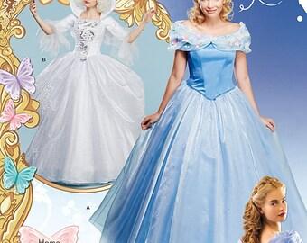Simplicity Pattern 1026 Misses Cinderella Costume