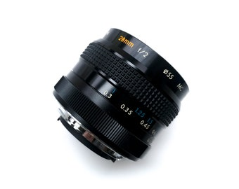 Kiron 28mm f2 lens with C/Y mount