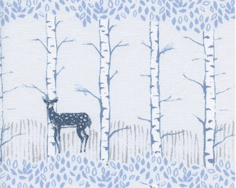 PRESALE: Fawn Forest (natural) from Frost by Sarah Watts for Cotton + Steel