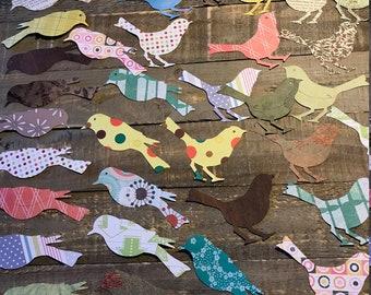 Die Cut Birds for Mixed Media Junk Journal Decoupage Scrapbook Creativity