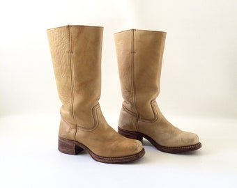 Women's FRYE Leather Boots - Size 8.5