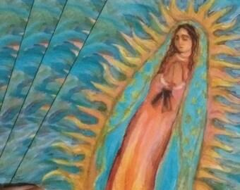 One Dozen Postcards Our Lady of Guadalupe Catholic Art